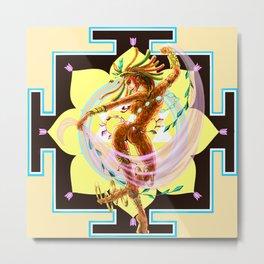 Devi Dance Metal Print