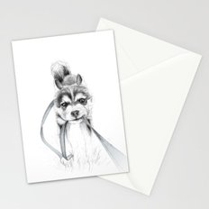 The Perseverance of a Puppy :: Siberian Husky Stationery Cards