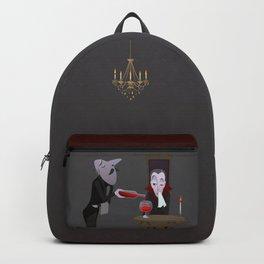 Feed me. Backpack