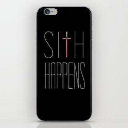 Sith Happens iPhone Skin