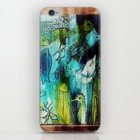 street art iPhone & iPod Skins featuring Street Art by Mr and Mrs Quirynen