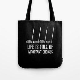 Golf Selection Tote Bag