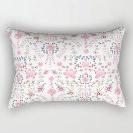 BABYLON~ Floral Trail Watercolor Rectangular Pillow