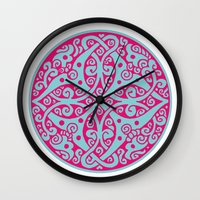 persian Wall Clocks featuring Persian circle by Osgarr