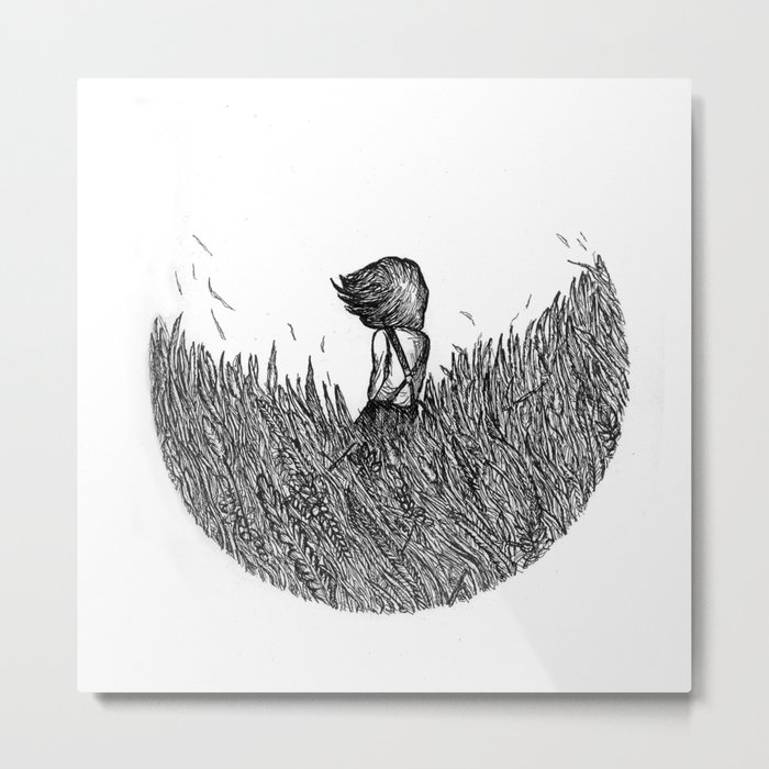 If You Keep Asking Me I'll melt Away In The Summer Air Metal Print