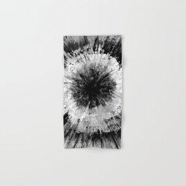 Black and White Tie Dye // Painted // Multi Media Hand & Bath Towel
