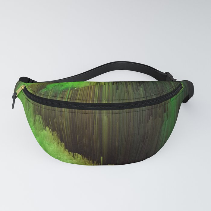 Ectoplasm - Abstract Glitchy Pixel Art Fanny Pack