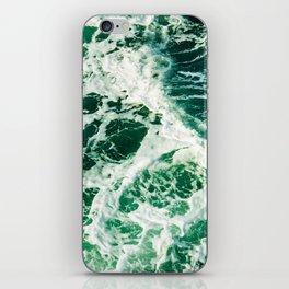 Green Seas iPhone Skin