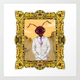 Dr. Ant Art Print