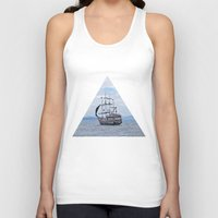 pirate Tank Tops featuring Pirate by Caio Trindade