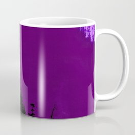 Into The Woods - Dark Forest - Violet Coffee Mug
