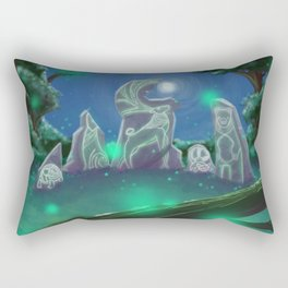 Forest Council Rectangular Pillow