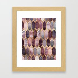 Dreamy Stained Glass 1 Framed Art Print