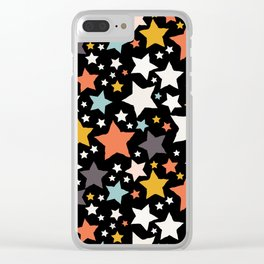 All About the Stars - Style H Clear iPhone Case