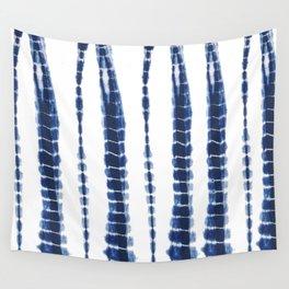 Indigo Blue Tie Dye Delight Wall Tapestry