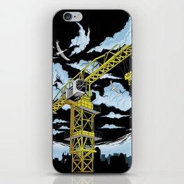 Tower Crane In The SKY iPhone Skin
