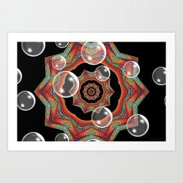 Pretty Bubbles Art Print