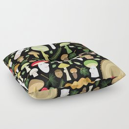 A Walk In The Forest Floor Pillow