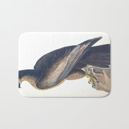 Bird of Washington John James Audubon Scientific Vintage Illustrations Of American Birds Bath Mat