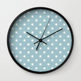 Whale shark skin colour 1 Wall Clock