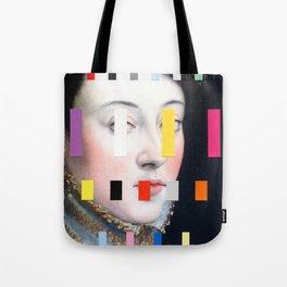 Portrait With A Spectrum 4 Tote Bag