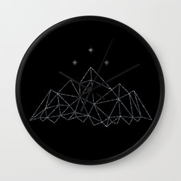 The Night Court insignia from A Court of Frost and Starlight Wall Clock