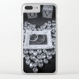 Marriage. Clear iPhone Case