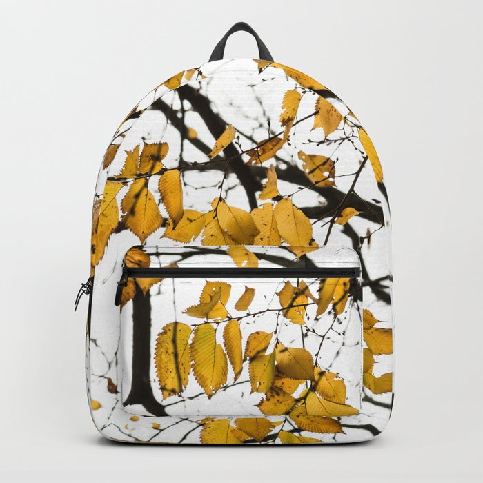 Golden Leaves on a Limb Backpack