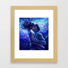 Out from the deep Framed Art Print