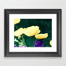 Spring Blooms Framed Art Print
