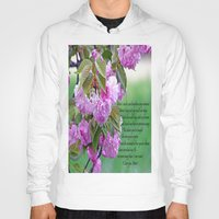 poem Hoodies featuring Mother's Day Poem  by Frankie Cat