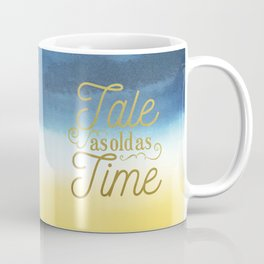 Tale As Old As Time - Beauty and the Beast (color) Coffee Mug