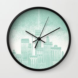 Uranus Celestial City Wall Clock