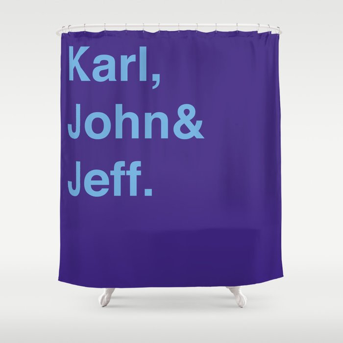 Utah Jazz Classic Shower Curtain