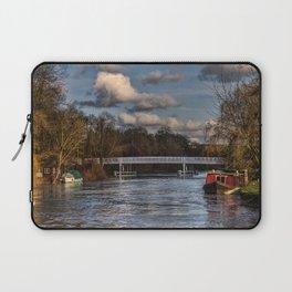 Below The Weir at Pangbourne Laptop Sleeve