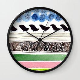 Pattern / Nr. 2 Wall Clock