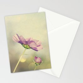 Cosmos in the Pink II Stationery Cards