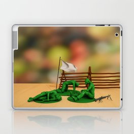 Toy Soldiers - Defeated - Anti-War Political Artwork Laptop & iPad Skin