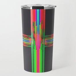 Neon Circuitry Travel Mug