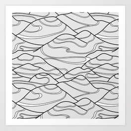 Serpentines Art Print