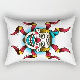 Spider Clown Rectangular Pillow