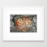 indian Framed Art Prints featuring Indian by Lia Bernini