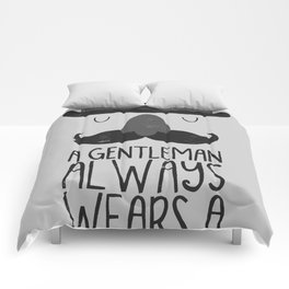 bowler hat Comforters
