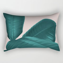 Ficus Elastica #4 #art #society6 Rectangular Pillow
