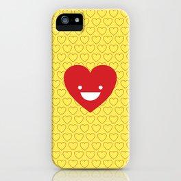 Happy Heart iPhone Case