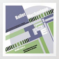 Leger Ballet Mechanique Art Print