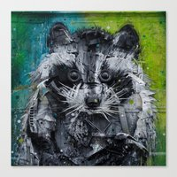 street art Canvas Prints featuring Street art by Sébastien BOUVIER