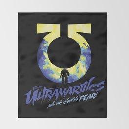 Ultramarines Throw Blanket