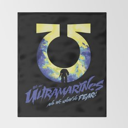 Ultramarines Throw Blanket