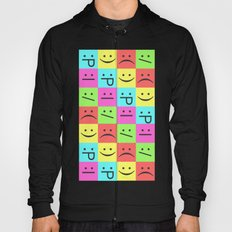 Smiley Chess Board Hoody